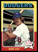 1975 Topps #390 Ron Cey NM-MT Los Angeles Dodgers