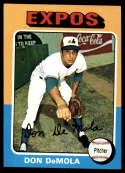 1975 Topps #391 Don DeMola NM+ RC Rookie Montreal Expos