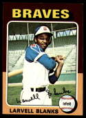 1975 Topps #394 Larvell Blanks NM+ Atlanta Braves