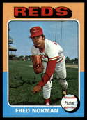 1975 Topps #396 Fred Norman NM+ Cincinnati Reds