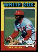 1975 Topps #400 Dick Allen EX Excellent Chicago White Sox