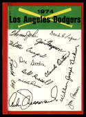 1974 Topps Red Team Checklists #NNO Los Angeles Dodgers EX Excellent Los Angeles Dodgers