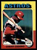 1975 Topps Mini #590 Cesar Cedeno NM Near Mint Houston Astros