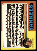 1975 Topps Mini #611 Bill Virdon MG marked New York Yankees