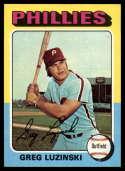 1975 Topps Mini #630 Greg Luzinski NM+ Philadelphia Phillies