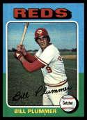 1975 Topps Mini #656 Bill Plummer NM Near Mint Cincinnati Reds
