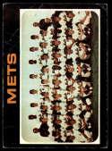 1971 Topps #641 Mets Team VG Very Good New York Mets