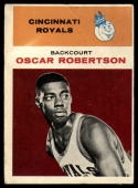 1961-62 Fleer #36 Oscar Robertson VG Very Good RC Rookie