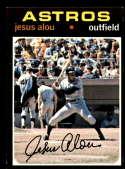 1971 Topps #337 Jesus Alou NM Near Mint Houston Astros