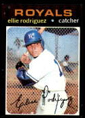 1971 Topps #344 Ellie Rodriguez NM+ Kansas City Royals
