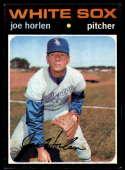 1971 Topps #345 Joe Horlen EX/NM Chicago White Sox