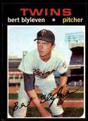 1971 Topps #26 Bert Blyleven EX Excellent RC Rookie Minnesota Twins