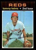 1971 Topps #272 Tommy Helms NM Near Mint Cincinnati Reds
