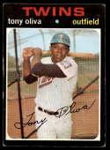 1971 Topps #290 Tony Oliva VG/EX Very Good/Excellent Minnesota Twins