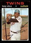 1971 Topps #290 Tony Oliva EX Excellent Minnesota Twins