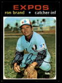 1971 Topps #304 Ron Brand NM Near Mint Montreal Expos