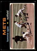 1971 Topps #310 Tommie Agee EX Excellent New York Mets