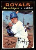 1971 Topps #344 Ellie Rodriguez NM Near Mint Kansas City Royals