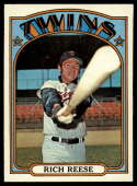1972 Topps #611 Rich Reese EX Excellent Minnesota Twins