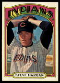 1972 Topps #615 Steve Hargan EX/NM Cleveland Indians