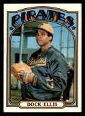 1972 Topps #179 Dock Ellis NM+ Pittsburgh Pirates