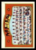 1972 Topps #362 Mets Team EX/NM New York Mets