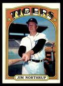 1972 Topps #408 Jim Northrup EX/NM Detroit Tigers