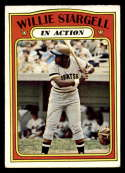 1972 Topps #448 Willie Stargell IA VG/EX Very Good/Excellent Pittsburgh Pirates