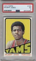 1972-73 Topps #193 Wilbert Jones PSA 5 Memphis Tams