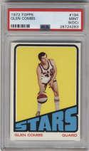 1972-73 Topps #194 Glen Combs PSA 9 OC Utah Stars