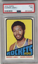 1972-73 Topps #205 Warren Jabali PSA 7 Denver Rockets