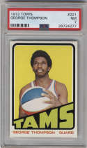 1972-73 Topps #221 George Thompson PSA 7 Memphis Tams
