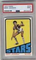1972-73 Topps #233 Merv Jackson PSA 9 Utah Stars