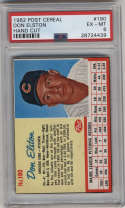 1962 Post Cereal #190 Don Elston PSA 6 Chicago Cubs