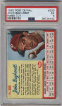 1962 Post Cereal #200 John Buzhardt PSA 5 Philadelphia Phillies