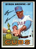 1967 Topps #439 Byron Browne EX/NM Chicago Cubs