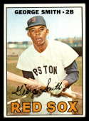 1967 Topps #444 George Smith EX Excellent Boston Red Sox