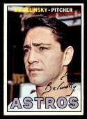 1967 Topps #447 Bo Belinsky ERR/DP NM Near Mint Houston Astros