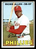 1967 Topps #450 Dick Allen EX/NM Philadelphia Phillies
