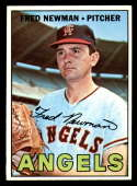 1967 Topps #451 Fred Newman DP EX Excellent California Angels
