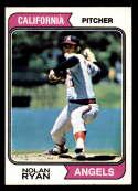 1974 Topps #20 Nolan Ryan VG Very Good California Angels
