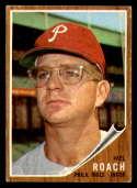 1962 Topps #581 Mel Roach VG Very Good Philadelphia Phillies