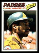 1977 Topps #390 Dave Winfield EX Excellent San Diego Padres