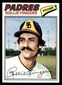 1977 Topps #523 Rollie Fingers NM Near Mint San Diego Padres