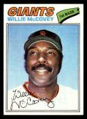 1977 Topps #547 Willie McCovey NM Near Mint San Francisco Giants