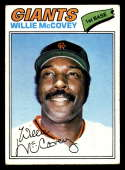 1977 Topps #547 Willie McCovey EX Excellent San Francisco Giants