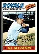 1977 Topps #580 George Brett EX/NM Kansas City Royals