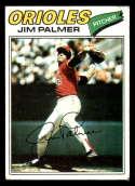 1977 Topps #600 Jim Palmer EX Excellent Baltimore Orioles