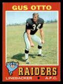 1971 Topps #258 Gus Otto EX/NM Oakland Raiders
