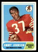 1968 Topps #61 Jim Johnson VG Very Good San Francisco 49ers